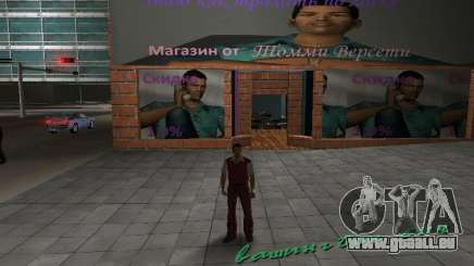 Boutique de Tommy Vercetti pour GTA Vice City
