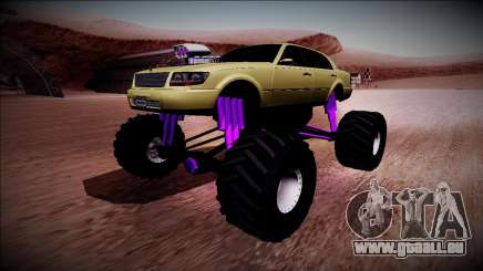 GTA 4 Washington Monster Truck pour GTA San Andreas