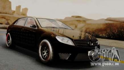GTA 5 Benefactor Schafter LWB Arm IVF für GTA San Andreas