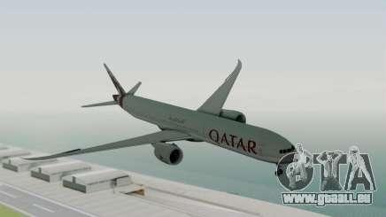 Boeing 777-9x Qatar Airways für GTA San Andreas
