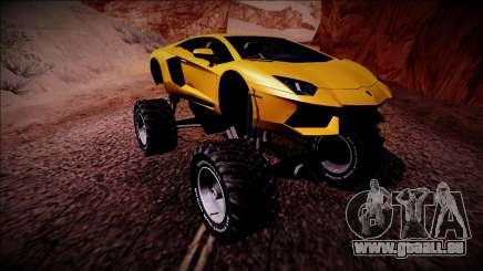 Lamborghini Aventador Monster Truck für GTA San Andreas