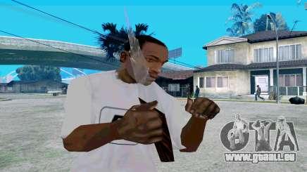 En verre avec poignée pour GTA San Andreas
