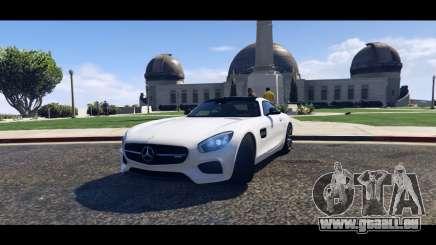 Mercedes-Benz AMG GT 2016 pour GTA 5