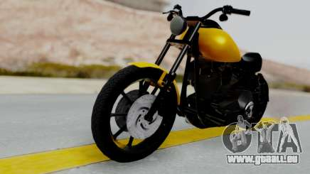 Harley-Davidson Dyna Super Glide T-Sport 1999 pour GTA San Andreas