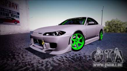 Nissan Silvia S15 Drift Monster Energy für GTA San Andreas