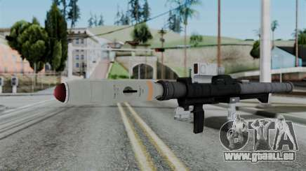GTA 5 Homing Launcher - Misterix 4 Weapons pour GTA San Andreas