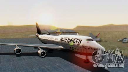 Boeing 747-428 Ed Force One für GTA San Andreas