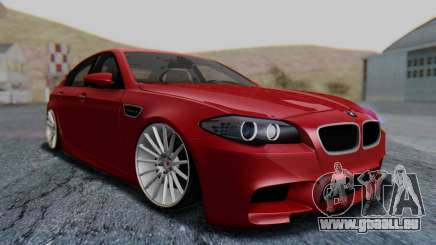 BMW M5 2012 Stance Edition für GTA San Andreas