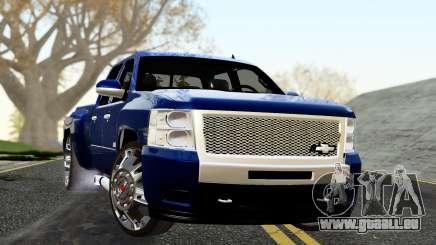 Chevrolet Cheyenne 2012 Dually pour GTA San Andreas