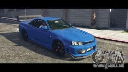 Nissan Skyline R34 Tommy Kaira pour GTA 5