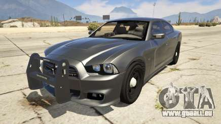 2012 Unmarked Dodge Charger für GTA 5
