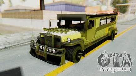 LGS Motors Eggtype Jeepney pour GTA San Andreas