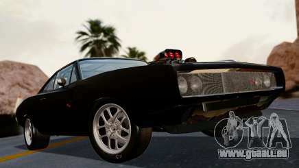 Dodge Charger from FnF4 pour GTA San Andreas