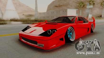 Turismo Saber X pour GTA San Andreas