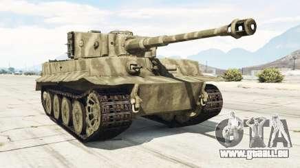 Panzerkampfwagen VI Ausf. E Tiger pour GTA 5