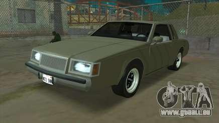 Willard Majestic für GTA San Andreas