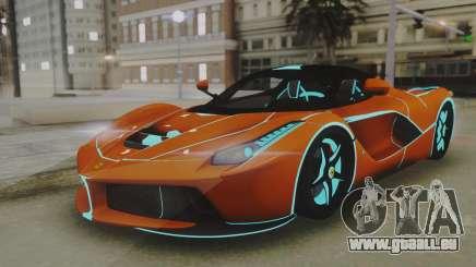 Ferrari LaFerrari TRON Edition v1.0 für GTA San Andreas