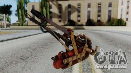 Fallout 4 - Flamethrower für GTA San Andreas