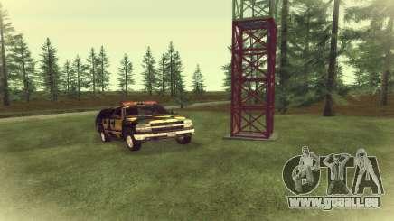 Chevrolet Suburban Camouflage pour GTA San Andreas