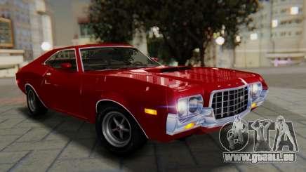 Ford Gran Torino Sport SportsRoof (63R) 1972 PJ1 pour GTA San Andreas