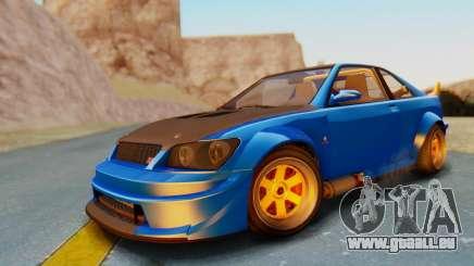 GTA 5 Karin Sultan RS Carbon für GTA San Andreas