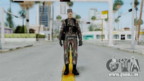 MH x Hungarian Army Skin pour GTA San Andreas deuxième écran