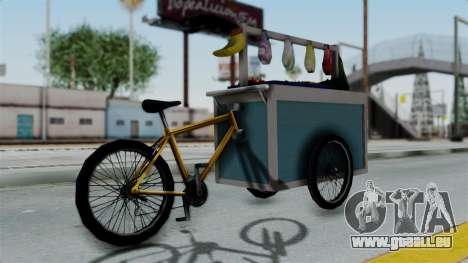 Gerobak Sayur (Vegetable Carts) für GTA San Andreas linke Ansicht