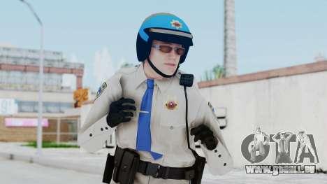 GTA 5 Cop-Biker für GTA San Andreas