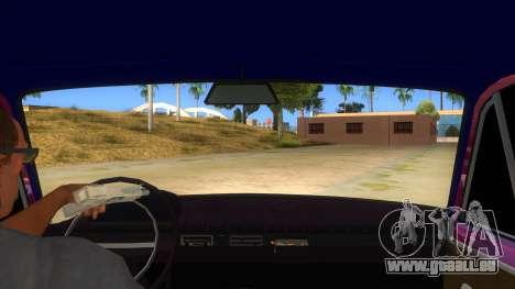 VAZ 2101 Chien pour GTA San Andreas vue intérieure