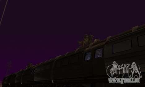 Batman Begins Monorail Train Vagon v1 pour GTA San Andreas vue de côté