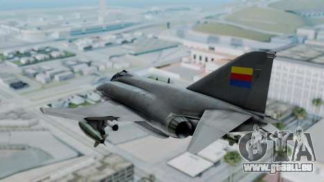 F-4E Phantom II Royal Noord-Hollandian Air Force pour GTA San Andreas vue de droite