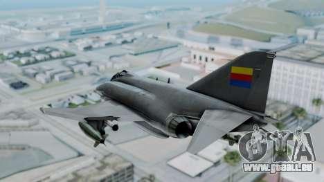 F-4E Phantom II Royal Noord-Hollandian Air Force pour GTA San Andreas vue de droite