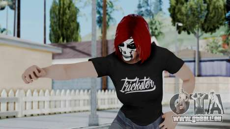 Female Skin 2 from GTA 5 Online pour GTA San Andreas
