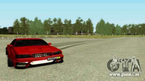 Nissan Cedric WideBody für GTA San Andreas Seitenansicht