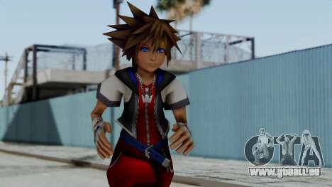 Kingdom Hearts 2 - Sora Early Costume Fix pour GTA San Andreas