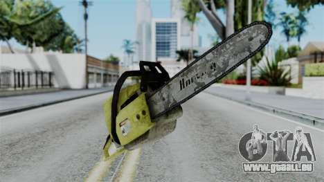 No More Room in Hell - Chainsaw für GTA San Andreas