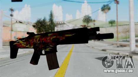 SCAR-L Extra PJ für GTA San Andreas
