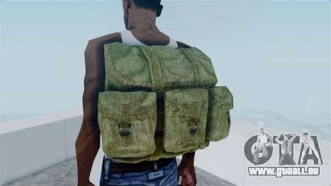 Arma 2 Alice Backpack pour GTA San Andreas troisième écran