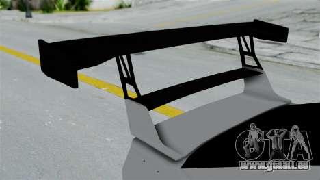 GTA 5 Karin Sultan RS Drift Double Spoiler PJ für GTA San Andreas Rückansicht