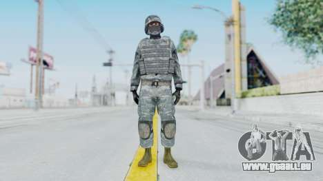 Acu Soldier Balaclava v1 für GTA San Andreas zweiten Screenshot