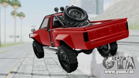 GTA 5 Karin Rebel 4x4 pour GTA San Andreas laissé vue