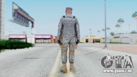 GTA 5 US Marine pour GTA San Andreas troisième écran