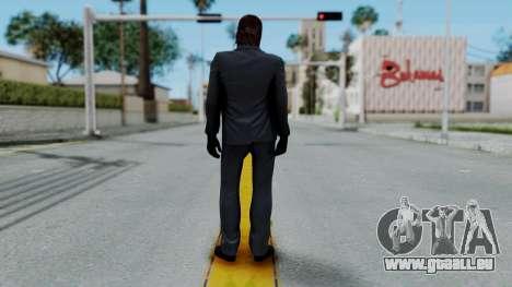 John Wich without Glasses - Payday 2 pour GTA San Andreas deuxième écran