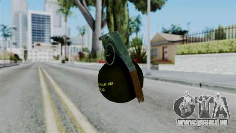 No More Room in Hell - Grenade pour GTA San Andreas