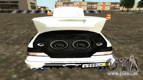 Nissan Cedric WideBody für GTA San Andreas Unteransicht