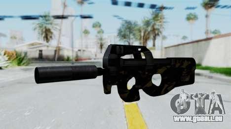 P90 Camo2 pour GTA San Andreas