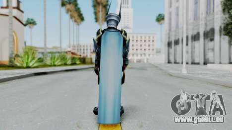 Kingdom Hearts BBS - Ventus Armored v1 für GTA San Andreas dritten Screenshot