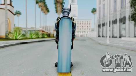 Kingdom Hearts BBS - Ventus Armored v1 für GTA San Andreas dritten Screenshot