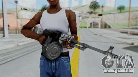 GTA 5 MG - Misterix 4 Weapons pour GTA San Andreas troisième écran