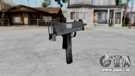 MAC-11 pour GTA San Andreas deuxième écran
